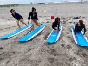 【千葉・九十九里大網白里】 人の少ない海でのんびり体験サーフィンスクール!初心者歓迎!
