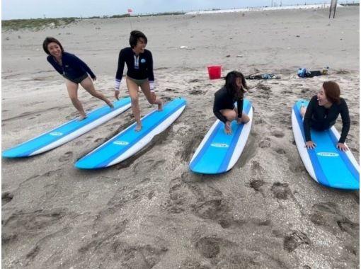 【千葉・九十九里大網白里】 人の少ない海でのんびり体験サーフィンスクール!初心者歓迎!の紹介画像