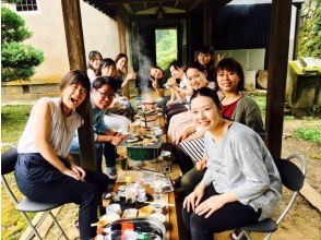 HIS Super Summer Sale in progress! [Nara / Uda] An empty-handed, covered Shichirin charcoal barbecue experience in a luxurious space that is completely reserved for a 500 tsubo cultural property old folk house!