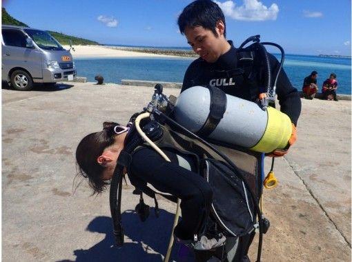 【宮古島】ダイビングライセンス取得(ネット講習・2日間)★学科はネットで、海洋実習は宮古島!