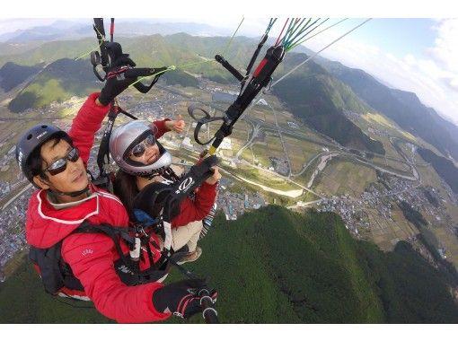 [兵庫·Tamba]由經驗豐富的教練指導滑翔傘經驗(串聯飛行課程)の紹介画像