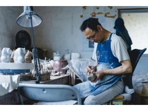 [Ishikawa / Komatsu City] An original GEMBA pottery experience under the wing of an active mould-crafting master rarely met today.