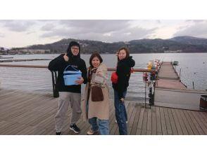 【山梨/山中湖】周六、周日、节假日限定完整包机计划!完美的电晕措施!在最多可容纳 14 人的温暖圆顶船上钓鱼!