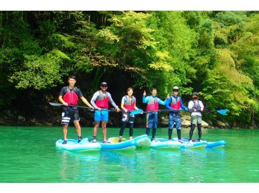 【東京・奥多摩】◎奥多摩の秋を満喫◎ 奥多摩 白丸湖でレイクSUPツアー 写真データ付☆の紹介画像