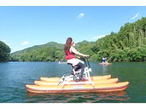 【三重・大台】バイクSUP(水上自転車)で水上ツーリング
