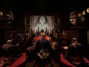 【オンラインツアー体験】奈良・明日香村より日本最初の厄除霊場『岡寺』にて夜護摩の炎に浮かぶ白き大仏に迫る