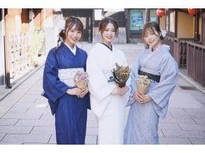 """京都四條★新★""""蕾絲和服計劃""""可愛的蕾絲和服搭配很受歡迎!"""