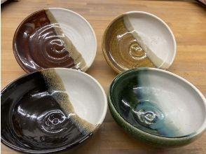 【奈良・平城宮跡】電動ろくろ体験・2個焼成、1つの器に2色使いであなたオリジナルの器に!