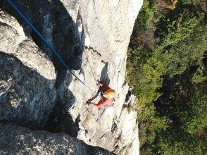 【滋賀】『ロッククライミング』 比良山系 獅子岩(VER-2)の画像