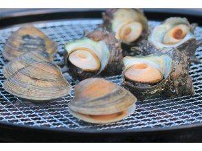 【千葉・館山】お客様の釣ったアジと活きてる貝の浜焼きが楽しめる浜焼きBBQ