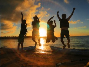 [Okinawa Onna Village] Sunset sea kayaking [SNS shine with drone shooting] Half price for elementary school students and younger! Free for 2-3 years old!