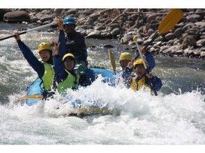 [Hokkaido ・ At Asahikawa Rafting Participation from the age of 5 OK! Rafting half-day Tours