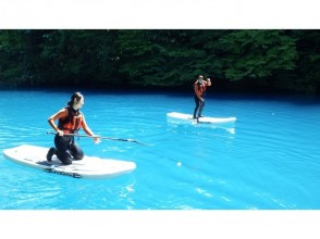 [Gunma · Shimank] ♪ walk up the surface of the cobalt elegantly Stand-up paddle boat (half-day Tours)