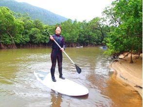 【沖縄・西表島】マングローブSUP&キャニオニング(川下り)コースの画像