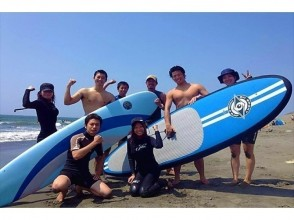 【湘南・茅ケ崎】初心者向け!半日サーフィン体験スクール(4時間コース)の画像