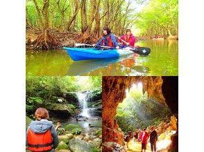 [沖繩西表島]紅樹獨木舟叢林探索瀑布旅遊及放(洞穴探險)當然祕境