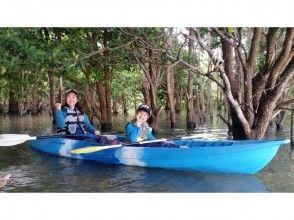 【古宇利島・羽地内海周辺海域】シーカヤックで行くマングローブツアー(バナナボート1回サービス)の画像