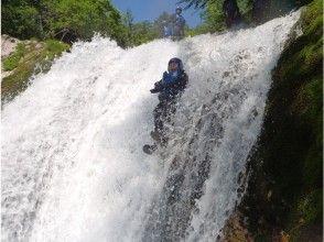 [Gunma ・ Minamikami] A thrilling mountain stream adventure! Canyoning Maple Course (half-day)