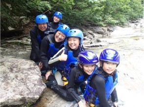 Lunch with ☆ [W Challenge ☆ family canyoning and Wed on- Rafting best memories making in] family!