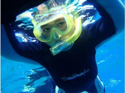 【沖縄】お得な学割プラン、4名様~!青の洞窟シュノーケル【スノーケリング】