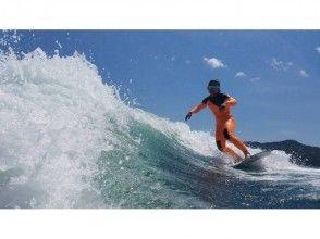 【広島 中区 江波】1時間貸し切りだから、思う存分ウェイクサーフィンを満喫!
