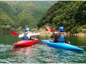 【高知 四万十川 川下り】午後からスタート お手軽川下り半日4kmショートツーリング【カヌー】の画像