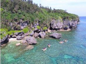 【沖縄・恩納村】カヤックでもっともっと冒険ツアー(120分)地域共通クーポン利用可能 ♪