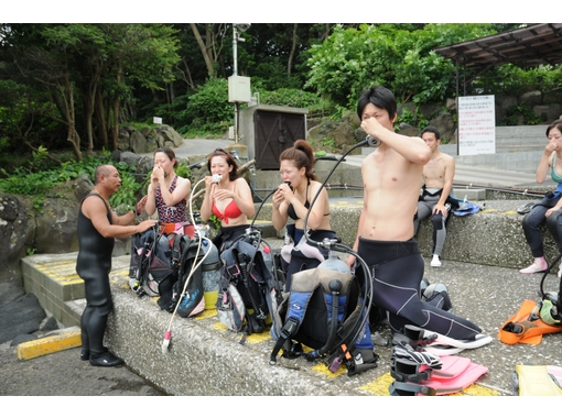 【静岡・伊豆海洋公園】オープンウォーターダイバーコース(ダイビングライセンス)