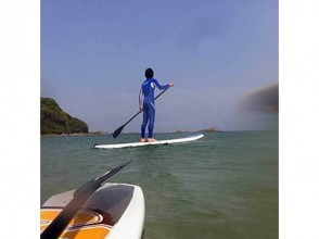Regional common Use a coupon plan [Shizuoka / Izu] Let's take a walk on the surface of the water! SUP stand up paddle board experience!