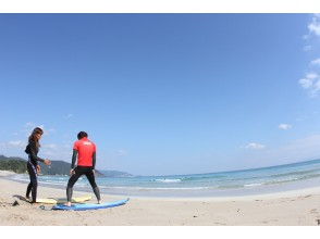 地区通用使用优惠券计划[静冈/伊豆]对于初学者!冲浪和冲浪基本课程!