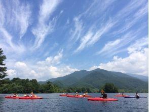 【福島・裏磐梯】3歳から参加OK!しぶきを浴びて楽しもう!小野川湖スプラッシュレイクカヌー