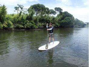 【都心から1時間半自然豊かな夷隅川】サーフSUP初心者体験コース