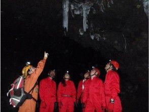 【山梨・河口湖】富士山麓・青木ヶ原樹海の溶岩洞窟探検(ケイビング)の画像