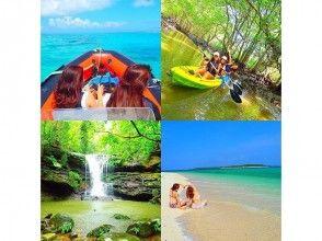 [沖繩西表島]紅樹獨木舟叢林探索瀑布遊和Panari島浮潛的祕境