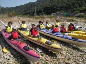 【兵庫・たつの市】昼食付き!瀬戸内海シーカヤック体験・無人島ツアーの画像