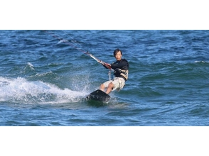 【Chiba · Misaki Machida East Coast】 Image of Kiteboard Regular Master Course 【1 lesson 2 hours × 4) picture