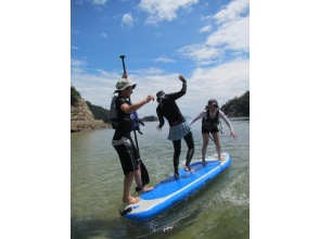 [Ura of Hiroshima and Tomo] Ura SUP beginner experience course [with your sweets] of Tomo