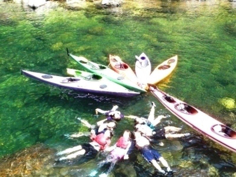 【鹿児島・屋久島】世界遺産を巡る!リバーカヤック体験(半日コース)の紹介画像