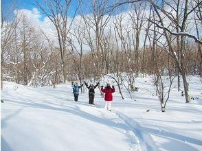 【群馬・奥草津】初心者歓迎!雪のチャツボミゴケ・神秘の池巡りスノーシューツアーの画像