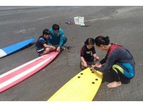 【千葉 香取 九十九里 鹿島】小学生から参加可能!お子様も一緒の親子サーフィンスクール