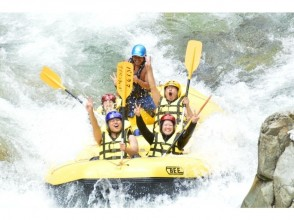 [Gunma/ Water / Minakami] exhilarating! Going down the river Rafting half-day Tours! There is a plan with DVD ☆