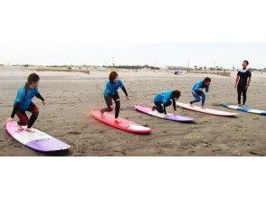 【千葉・初心者向け!】サーフィン・BB基礎コース(ウェットレンタル有り)の画像