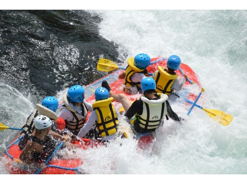 [Gifu/Minokamo/Gujo 】 With lunch! In Nagara River Rafting Enjoy yourself as much as you want! (A full day course)の紹介画像