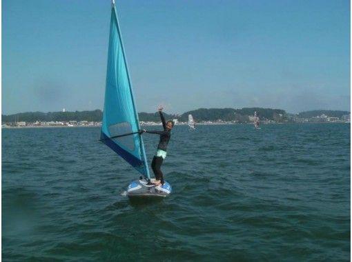 【神奈川・湘南鎌倉・初心者向け!】ウインドサーフィン 1日体験スクールの紹介画像