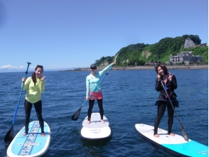 【Shonan · Kamakura for beginners! 】 Image of SUP Experience School (1 hour Course) (Photo Present in Experience!)