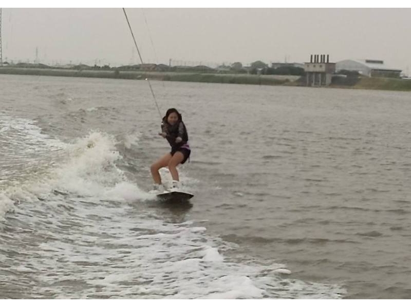 [Fukuoka ・ Chikugo River]Wakeboarding Experience (plan for beginners)の紹介画像