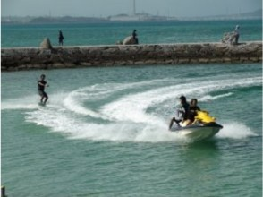【Okinawa · Onna village】 banana boat play all you want course play equipment · wake board 120 minutes play all you want plan plan image