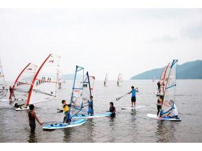【滋賀・近江八幡】ウィンドサーフィン初心者コース(1回コース)の画像