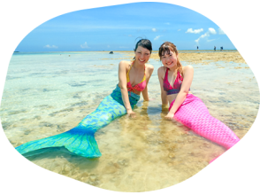 【Okinawa · Ishigakijima】】 Mermaid Photo & Phantom Island Landing & Snorkeling! Image of a half day plan 【photo gift】