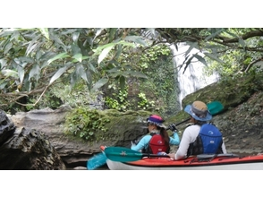 【沖縄・西表島】カーテンのように流れる素晴らしい滝を見に行こう!【カヤック・トレッキング 1日】